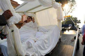 Weddings on Portable Beds