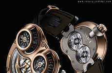 Galactic Fashion Watches - The Horological Machine No3