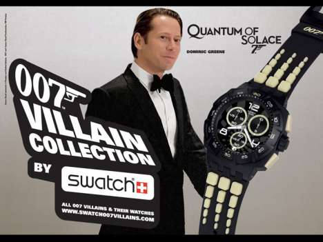 Watches Inspired by Movie Villains