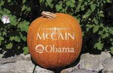 Undecided Voter Pumpkins - Politically Confused Jack'o'Lanterns