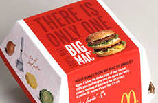 Fast Food Packaging Makeovers - McDonald's Revamps Their Image
