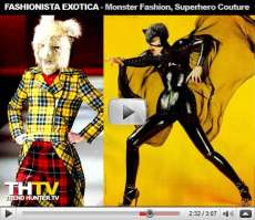 Fashionista Exotica - Monster Fashion, Superhero Couture, Sarah Palin's $150,000 Wardrobe
