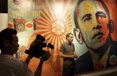 Obama Street Art Museum Surveys - Shepard Fairey's 'Supply and Demand' at the ICA