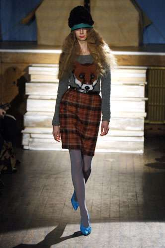 Foxy Tweeds - Peter Jensen A/W Fashion