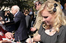 Political Fashion Blogettes - Meghan McCain, Fashion Journalist