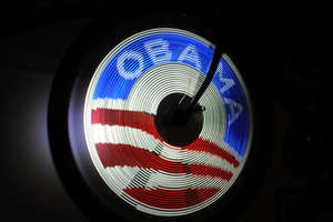 Obama-Inspired LED Bikes