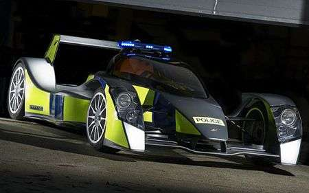 Pimped Police Cars