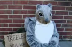 The 'Treeless Squirrel' Fights for the Environment