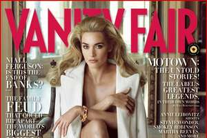 Kate Winslet on Vanity Fair Dec 2009 Cover