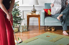 Chic Putting Green Rugs - 'Putt Up or Shut Up' Flooring