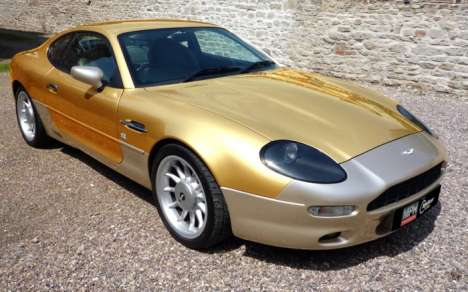 Gilded 007-Themed Luxury Cars