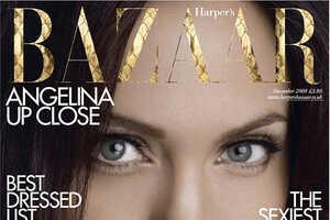 Angelina Jolie on British Harper's Bazaar