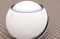 Round Washing Machines - The 'Aquarium' Features Rotating Spheres