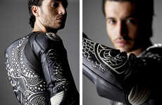 Etched Samurai Racing Suits - The Tattoo Ykz. by Dainese