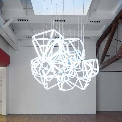 Sound-Converting Lights - The Cumulus LED Sculpture Turns Sounds into Light