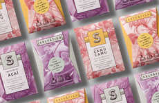 Exotic Tea Packaging - Selvatica's Branding is Inspired by the Rainforest of Colombia