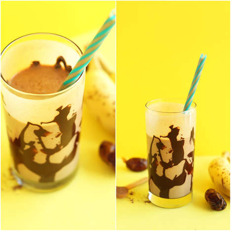 Nutty Superfood Shakes - The Minimalist Baker's Smoothie Mixes Chocolate, Peanut Butter and Banana