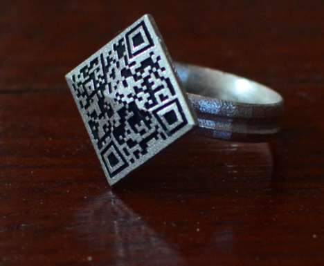 Cryptocurrency Rings - The BTC's Ring Value is Only Revealed When it is Scanned