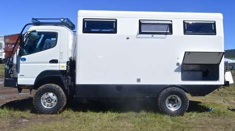 Expedition Vehicles - The Earthcruiser FX is Fitted With Amenities and Luxuries