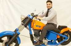 3D-Printed Motorbikes - This 3D-Printed Motorbike Was Designed By TE Connectivity