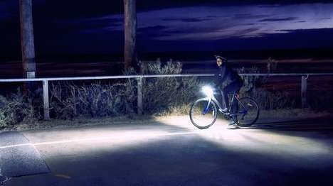 Dual-Beam Bike Lights - The Ding Light Keeps Cyclists Visible at Night