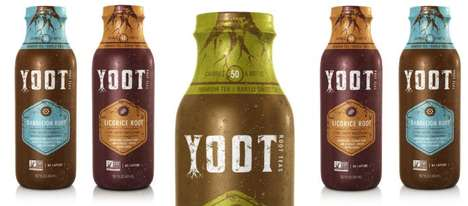 Herbal Root Teas - The New Line of 'Yoot' Medicinal Teas Help to Promote Healing and Vitality