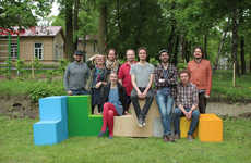 Outdoor Tetris Furniture - These Playground-Oriented Furniture Pieces are Fun for Kids and Adults