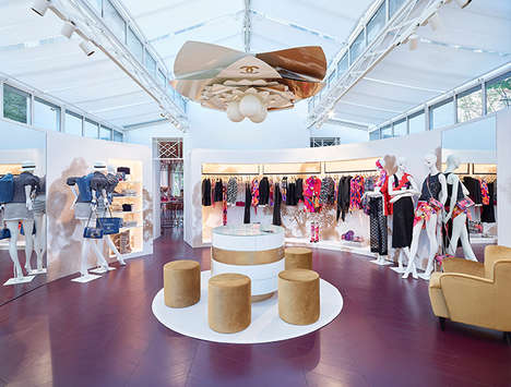 Luxe Pop-Up Boutiques - Chanel St. Tropez is a Temporary Retail Experience for Lovers of Luxury