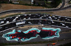 Highway Art Installations