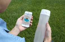 Smart Hydration Bottles - HidrateMe is a Smart Water Bottle That Reminds You to Drink