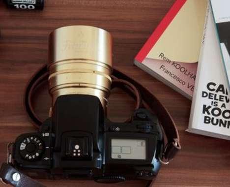 Swirly Bokeh Camera Lenses
