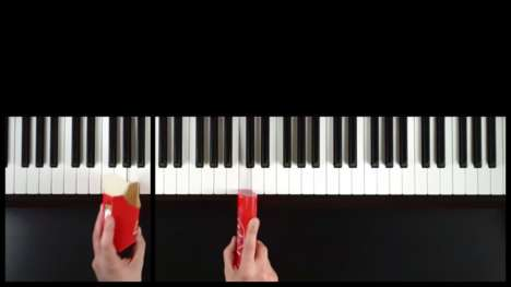 Recreated Famous Jingles - Grant Woodlard Reinvents Brand Songs by Playing the Piano with Products