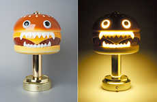 Japanese Brand UNDERCOVER Released an Eye-Catching Hamburger Lamp