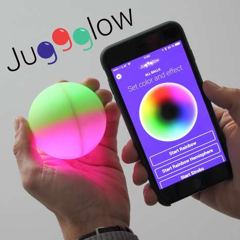 LED Juggling Balls - 'Juggglow' Takes Juggling to the Next Level with Intelligent Smart Technology