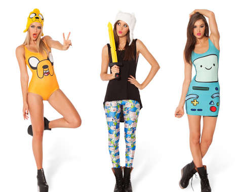 100 Cartoon-Themed Fashion Innovations