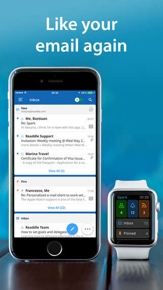 Prioritizing Email Applications - 'Spark' is an Application That Will Organize Important Emails