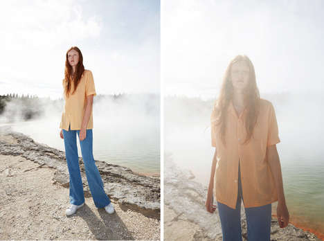 Outdoorsy Normcore Editorials - Jedd Cooney's 'Mineral' Fashion Story Features Thrifty Fashions