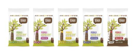 Chewy Superfood Candies - 'Bonga Foods' Packs the Power of Baobab Superfruit into Bite-Sized Chews