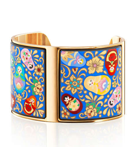 Whimsical Accessory Collections - Frey Wille's Latest Collection References Artful Imagery