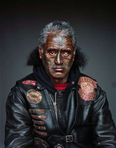 Gripping Gang Portraits - Jono Rotman Photographed Haunting Portraits of Mob Members