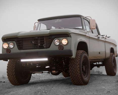 Modernized Retro Trucks