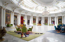 Opulent Heritage Hotels - Le Negresco Embodies Opulence and Boasts a Vintage Decor Style
