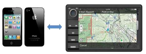 Off-Road Terrain Maps - 'Magellan' Plans to Release a New Navigation System for Unmarked Backroads