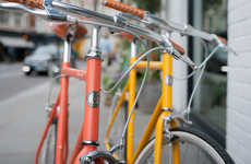 Hotel Souvenir Bikes - Ace Hotel & Tokyobike Launched a Brightly Colored Bicycle Line for Guests