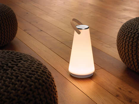 Portable Light Speakers - The UMA Sound Lantern by Pablo Designs Does Double Duty