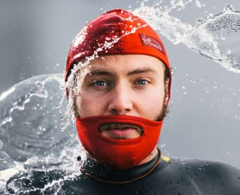 Swimming Beard Caps