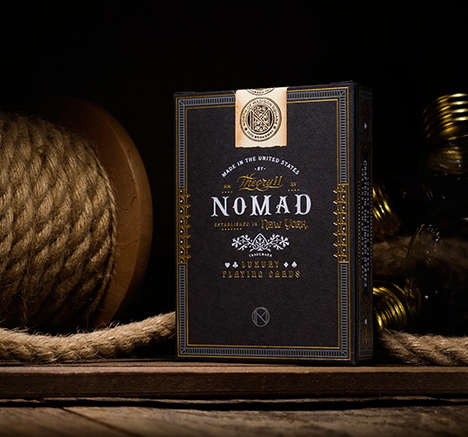 Hotel-Inspired Playing Cards - The NoMad Playing Cards are Inspired by the Opulent Hotel