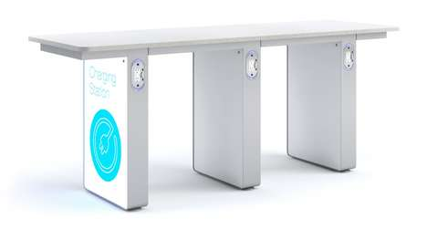 Power Source Furniture - Arconas' InPower Bar Concept Features a Built-In Power Source
