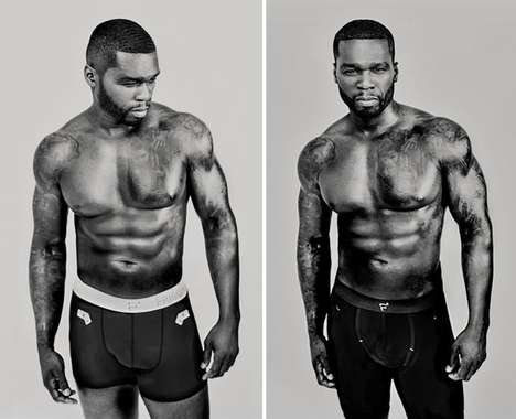 Celebrity Underwear Lines - Rapper 50 Cent Designed a High-End Line of $100 Male Undergarments