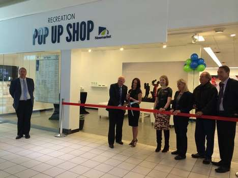 Engaging Activity Shops - The Upper Canada Mall's New Pop-Up Retail Space Promotes Recreation